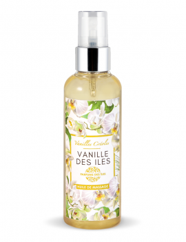 Huile de massage Vanille...