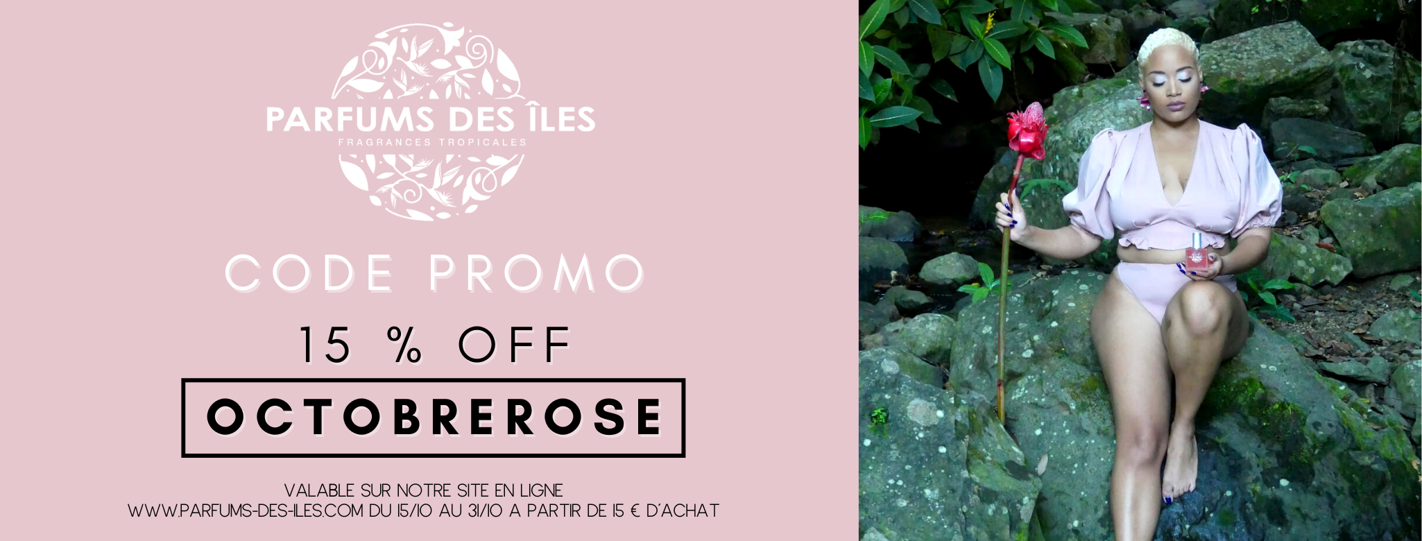 CODE PROMO OCTOBRE ROSE